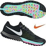 Nike Mens Zoom Terra Kiger 4 Trail Running Shoes Black/White/Volt 880563-001 Size 10.5