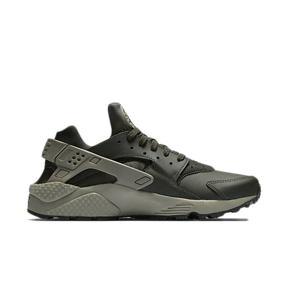 NIKE Men's Air Huarache Running Shoes B00GODWLBS 10 D(M) US|Dark Green/Sequoia