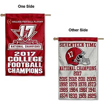 ecbb64b3d Amazon.com   College Flags and Banners Co. Alabama Crimson Tide 17 ...