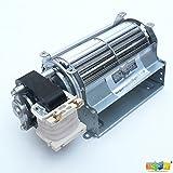 GFK21, FK21, BLOTSDV Replacement Fireplace Blower Fan UNIT for Heatilator, Majestic, Heat N Glo, Rotom R7-RB66