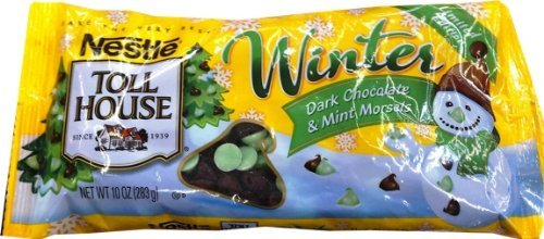 Nestle Toll House Dark Chocolate and Mint Baking Morsels Chips