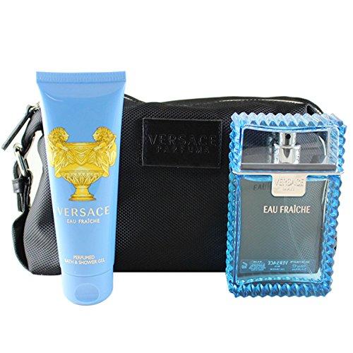 (Versace Eau Fraiche 3 Piece Gift Set for Men)