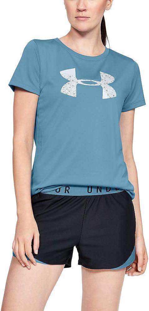 Under Armour Damen Kurzarmshirt Tech SSC Graphic