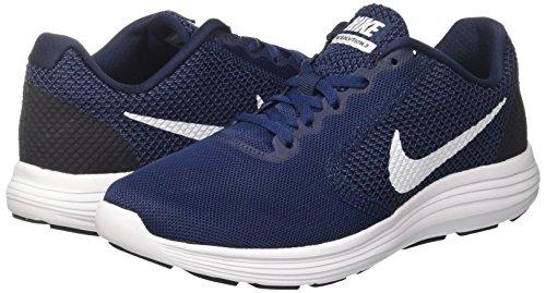 3 midnight Scarpe Nike Running white Navy Blu obsidian Revolution 406 Uomo 55YnxRr