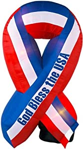 Airblown Inflatable USA Ribbon