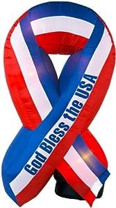 Airblown Inflatable USA Ribbon