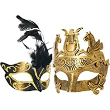 Various Venetian Couple Women and Men Mask For Masquerade/Party/Ball Prom/Mardi Gras/Wedding/Wall Decoration