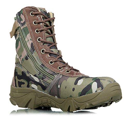 AIURBAG Da uomo Stivaletti Escursionismo Stivaletti alla caviglia Di corda Autunno Inverno Sportivo Casual Verde 2,5 - 4,5 cm
