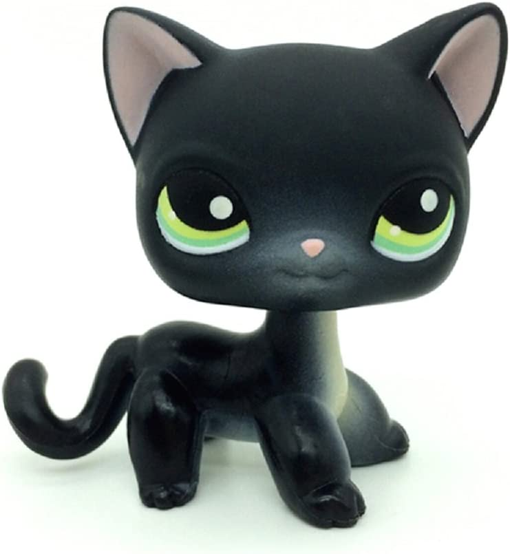 ZAD #336 Collection LPSs Black Short Hair Kitty Cat Loose Toy