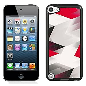Black Red Arrows Durable High Quality iPod 5 Phone Case