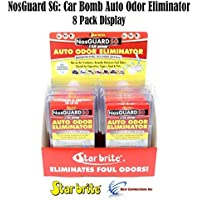 Auto Odor Eliminator Control System Car Bomb Star Brite 199088 Pack Display