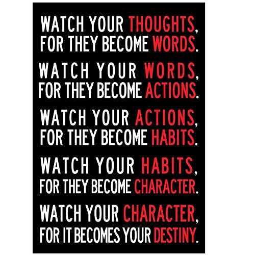 wall-sticker-hatop-13-x-19inch-creative-watch-your-thoughts-motivational-poster-2