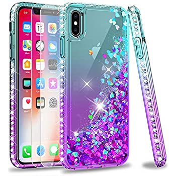 Amazon.com: iPhone Xs Max Case with Tempered Glass Screen