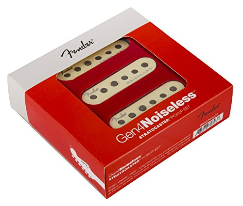 Fender Generation 4 Noiseless Stratocaster Single-Coil Pickups - Set of 3