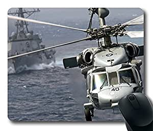 Us Military Helicopter 2 Cool Comfortable Gaming Mouse Pad