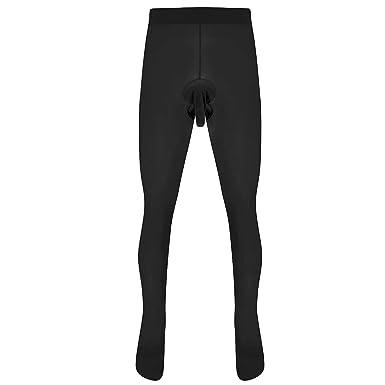 TiaoBug Homme Collant Bas Thermiques Legging de Sport Running Gym Pantalon  de Compression Legging de Chambre 76bab866333