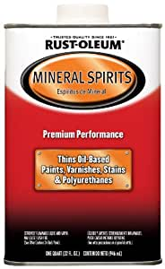 Rust-Oleum Automotive 253351 32-Ounce Low Voc Mineral Spirits Quart