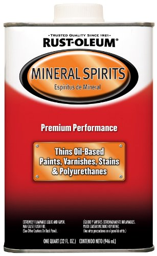 Rust-Oleum Automotive 253351 32-Ounce Low Voc Mineral Spirits Quart
