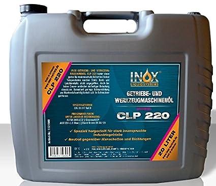 Herramientas Máquinas FV aceite 20L CLP ISO VG 220 getriebeöl ...