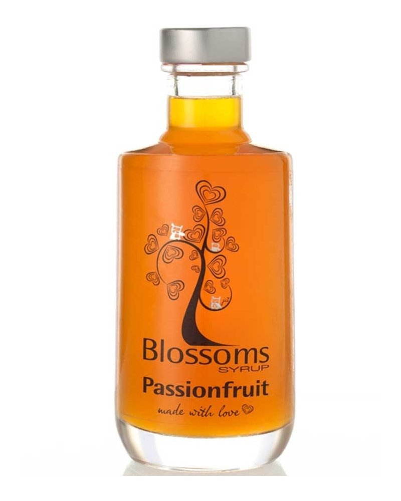 Blossoms Syrup Passionfruit Gourmet Cocktail Cordial Dessert Syrup 100% Natural Fruit 100ml (10cl)