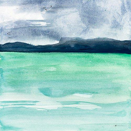 Indigo Hills I , 36x36in. - 36 Transitional Canvas