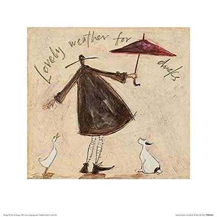 The Art Group Cat Baskets Sam Toft Art Print Paper 30 x 40 x Multi-colour