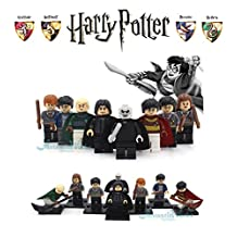 ABG Toys 8 Minifigures Harry Potter and the Philosopher's Stone Minifigure Series Building Blocks