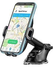 Bovon Handyhalterung Auto, 360° Drehung Armaturenbrett KFZ Halterung mit Teleskoparm, Universal Handyhalter Auto mit EIN-Tasten-Freigabe und Starker Saugnapf für die Meisten Smartphone