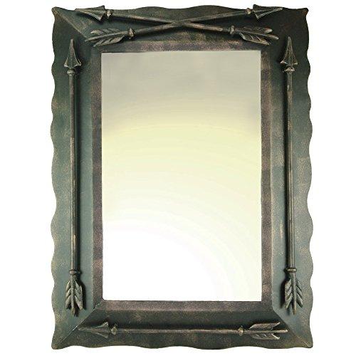 Western Metal Arrow Wall Mirror