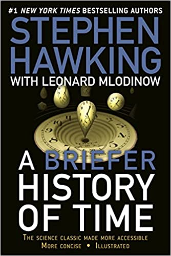Cover image for a Briefer History of Time