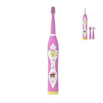 ZMH Viaje Inicio Fábrica Sonic Portable Automático Inteligente Niños Oral Cepillo De Dientes Dental con Música para Niños Chica Rosa: Amazon.es: Deportes y ...