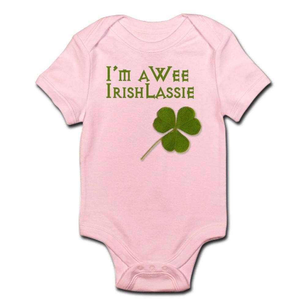 CafePress - Wee Lassie - Cute Infant Bodysuit Baby Romper