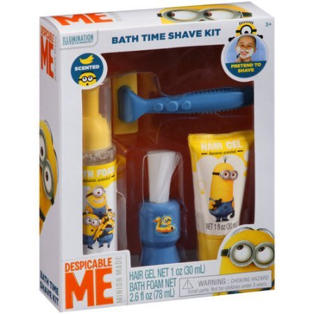 Despicable Me Minion Made Banana Scented Bath Time Shave Kit by Minions