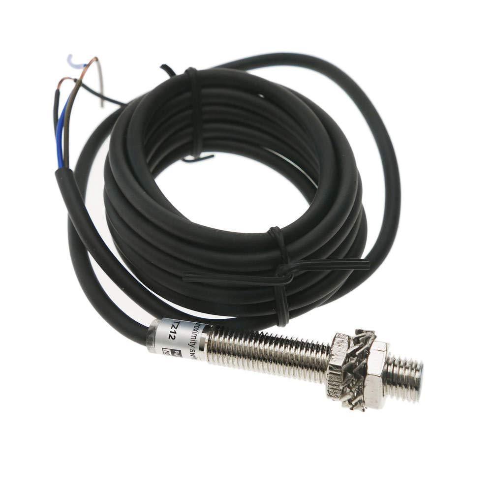 BeMatik - Sensore Detettore di prossimità Induttivo 6-36 VDC PNP No M12 SN:2mm BeMatik.com