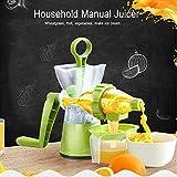 ABS food grade material Manual Juicer Fruit Vegetable Wheatgrass Juice Press Squeeze Machine Ice cream Maker