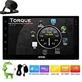 Free Backup Camera Android 6.0 Multifunctional Car Stereo Head Unit External MIC Bluetooth