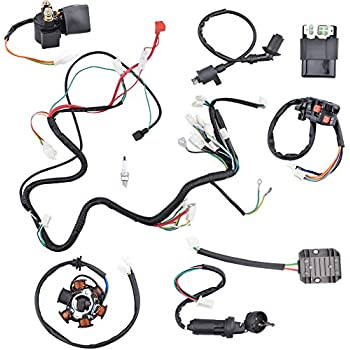 Amazon Com Annpee Complete Electrics Wiring Harness Wire Loom