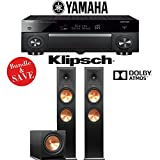 Yamaha AVENTAGE RX-A1070BL 7.2-Channel 4K Network AV Receiver + Klipsch RP-280FA + Klipsch R-112SW - 2.1-Ch Dolby Atmos Home Theater Package