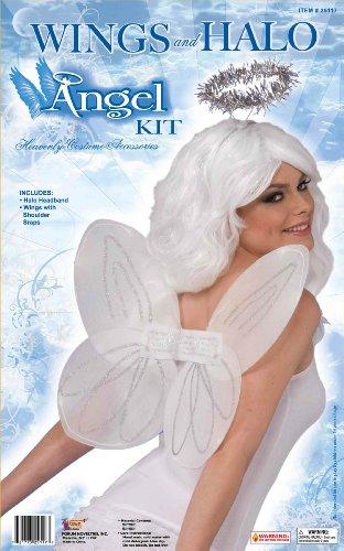 [Forum Novelties 25117 Kit-Angel Wings/Halo] (Fantasy Life Angel Costume)
