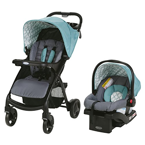 Graco Verb Click Connect Travel System, Merrick (Graco Fastaction Infant Car Seat)