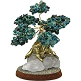 Bonsai Gemstone Wishing Tree - Chrysacolla