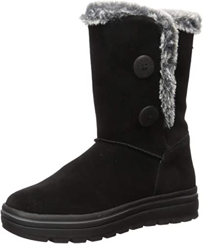 Street Cleats-Tall Double Button Boot