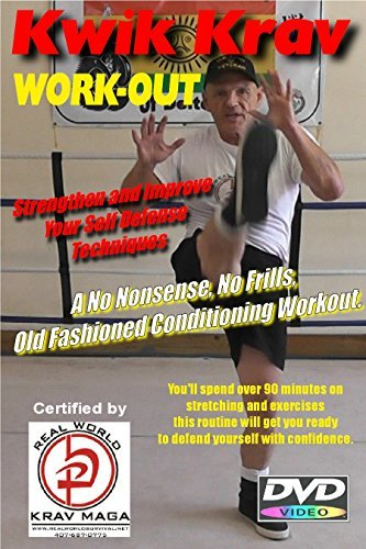 Simple Follow Along Workout Self Defense Conditioning Exercises, for Krav MAGA, MMA, and Boxing, DVD