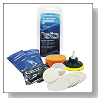 Alician Portable Car Headlight Lens Restoration Kit System Professional Restorer Polishing Protection Tool Kit