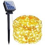 Outdoor Solar String Lights, 66FT 200 LED Solar