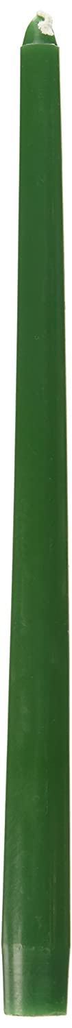 12-Inch Zest Candle 12-Piece Taper Candles Hunter Green
