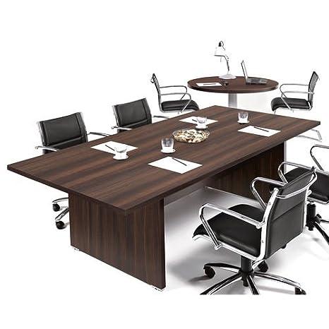 Tavolo Per Riunioni Legno.Tavolo Riunione Scrivania Direzionale Ufficio 240x115 In