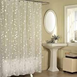 Silver Shower Curtain Ex-Cell Ivy Shower Curtain Silver
