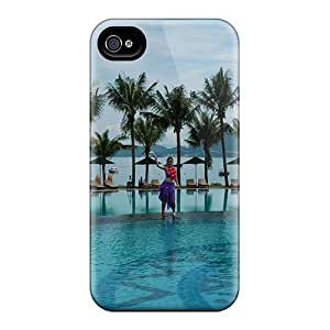 Hard Premium Diy For SamSung Galaxy S6 Case Cover Skin(water Architecture Swimming Sunlight Swimming Pools Tropic)