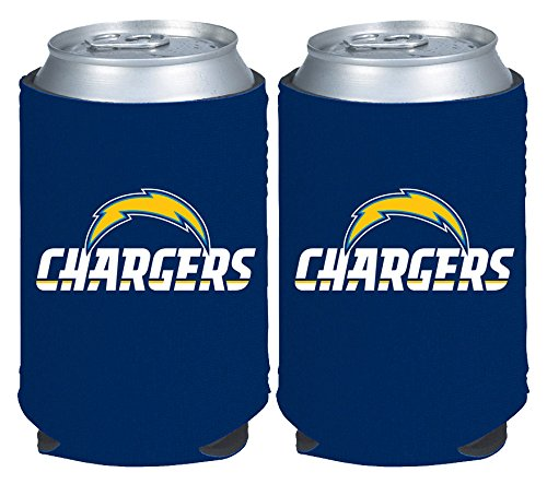 NFL San Diego Chargers Magnetic Kolder Kaddy, 2-Pack, Dark (San Diego Chargers Collapsible)